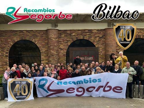 Recambios Segorbe viaja con sus clientes a Bilbao